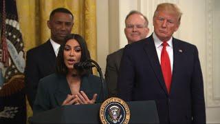 Kim Kardashian assists Trump's justice reforms