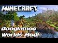 DOOGLAMOO WORLDS beta | Terrain generation / Worldgen for Minecraft 1.12 | Minecraft Mod Showcase