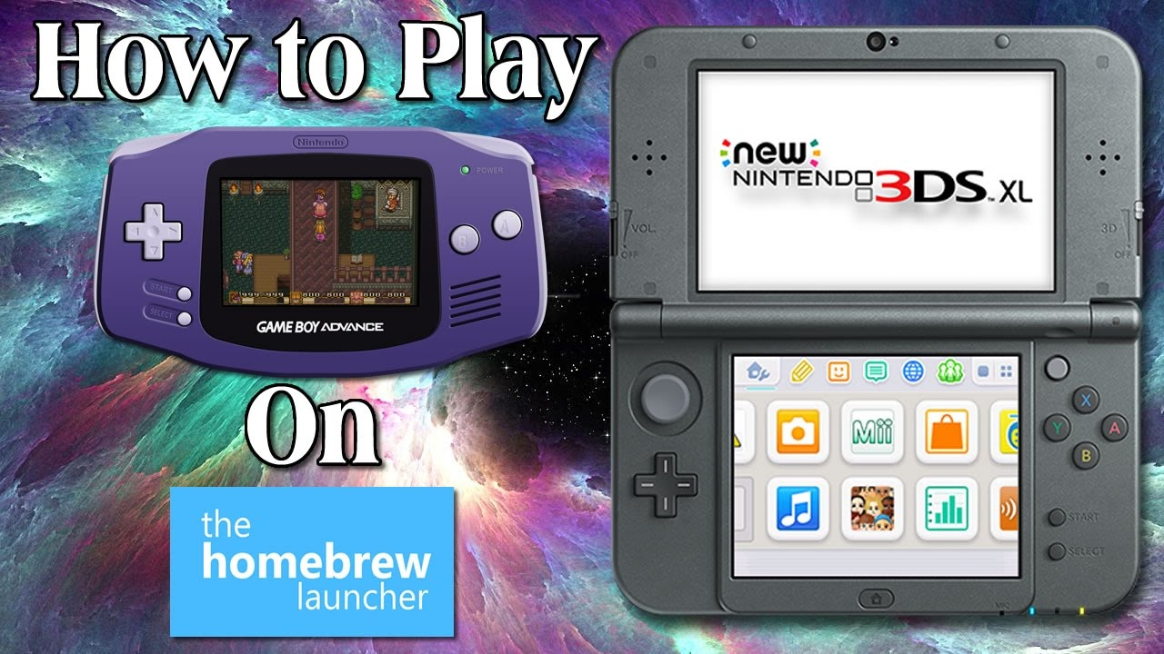 3ds homebrew guide how to play gameboy gameboy color gameboy rh youtube com Nintendo DS Lite Nintendo DS Lite