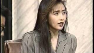 90年の頃のビデオの終わりにあった映像です。中山忍がまるいです(笑)