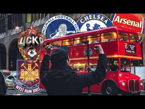 Выезд в Лондон на дерби Вест Хэм - Челси, Арсенал - ЦСКА и на матч Чемпионшип Миллуолл.