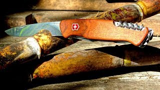 Swiss Army Knife Wood Ranger 55 (0.9561.63) - Victorinox Hands-on Unboxing in Colombia
