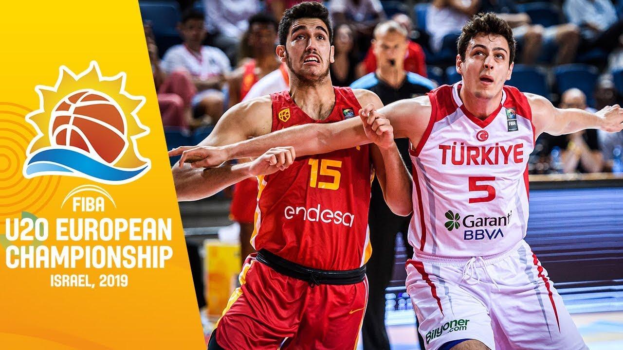 Turkey v Spain - Highlights - Quarter-Final - FIBA U20 European Championship 2019
