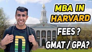 MBA in Harvard: Fees, GMAT, GPA! Does IIT Tag Matter?