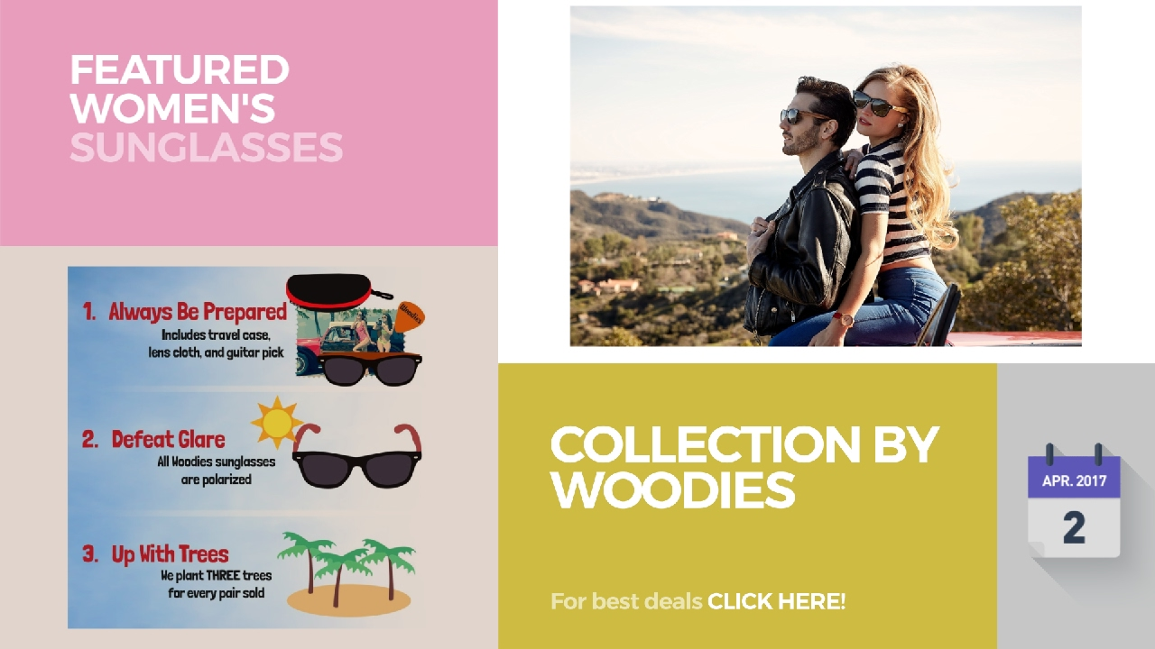 d656f2180a9a Collection By Woodies Featured Women s Sunglasses - YouTube