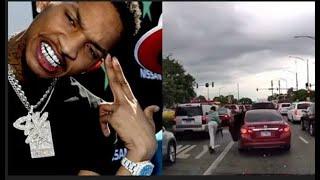 Dallas Goons Let Off 40 Sh@ts At Stunna 4 Vegas Defending Da Baby & Dissing Cris Brown