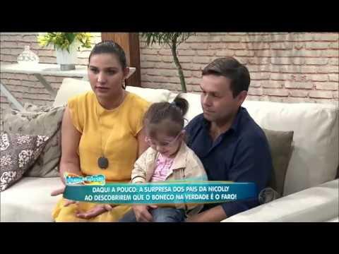 Hora do Faro história de Nicolly com Natália Guimarães