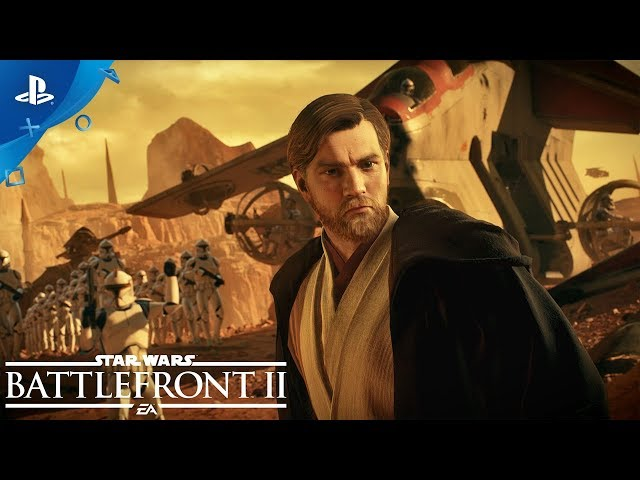 Star Wars Battlefront II - Battle of Geonosis Official Trailer | PS4