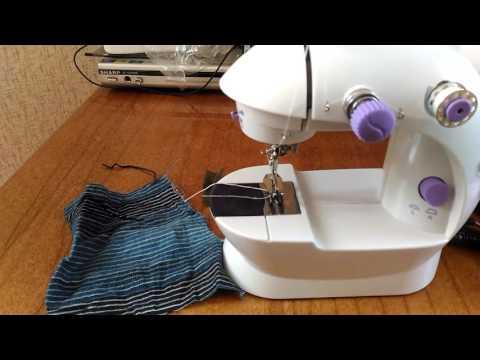 Швейная машинка - распаковка и тестирование