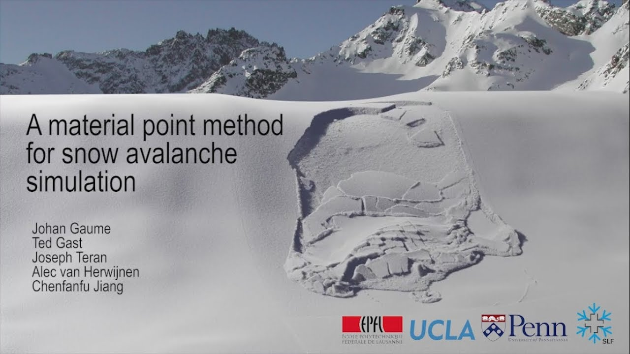 SLAB – Snow and Avalanche Simulation Laboratory