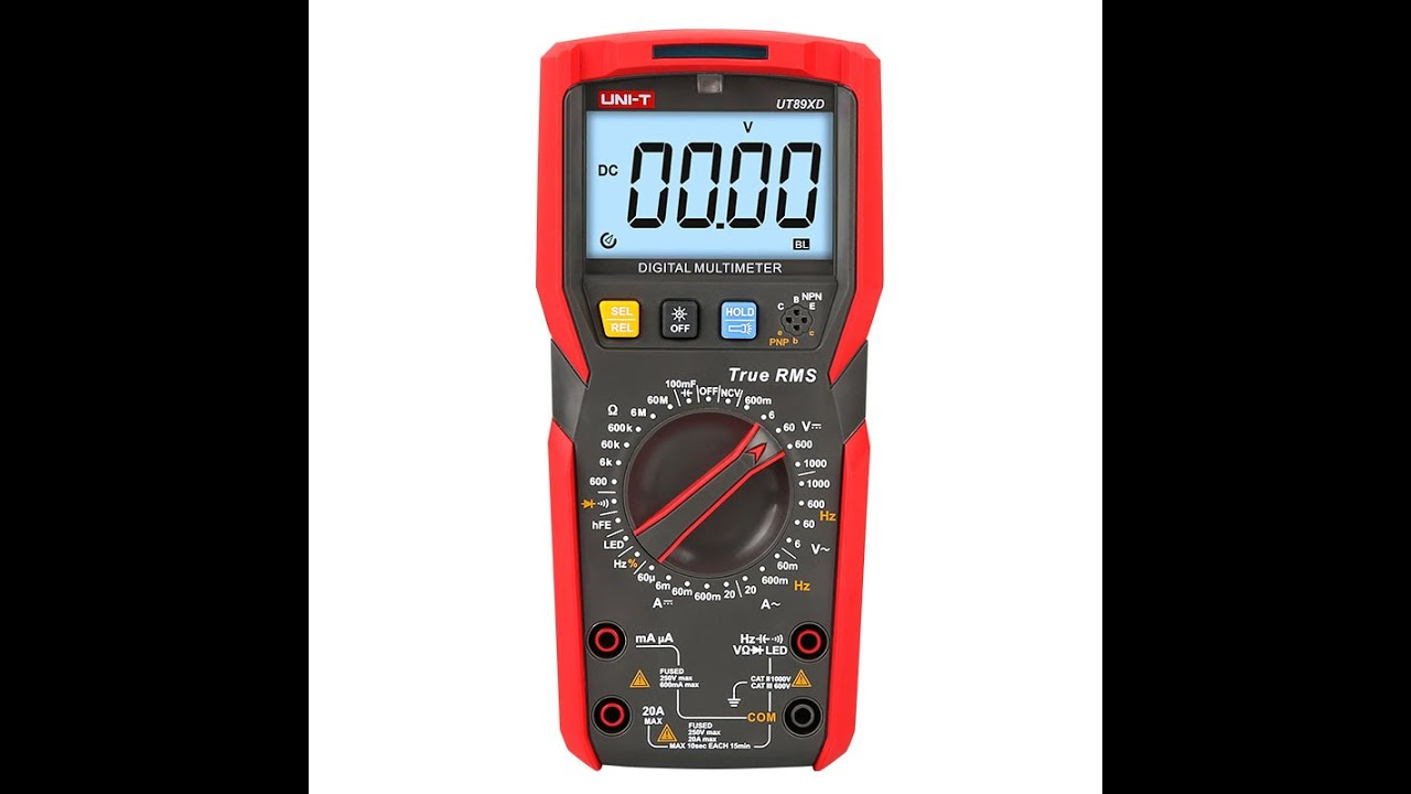 UNI-T UT89X Digital Multimeter - Part 2