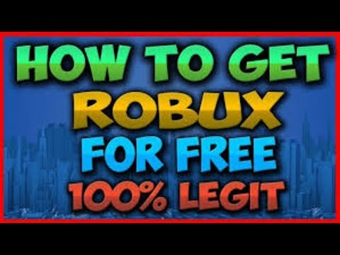 How To Get Robux Legally