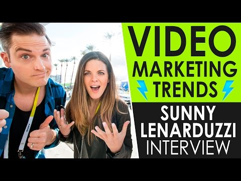 Snapchat Tips, Video SEO, and the latest Video Marketing Trends — Sunny Lenarduzzi Interview