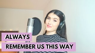 Always Remember Us This Way | Lady Gaga | A Star Is Born | Live Cover by Aliesha Lobuczek
