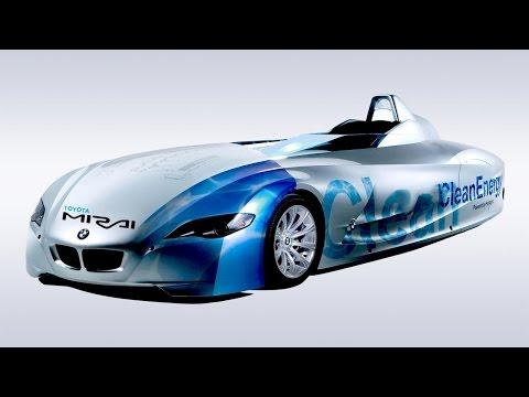 বাতাসে চলবে যে গাড়ি । New Wind Turbine Hydrogen Car