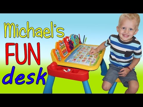Michael's VTech Touch & Learn Activity...