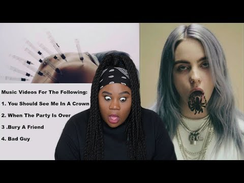 music billie eilish bad guy reaction album plus