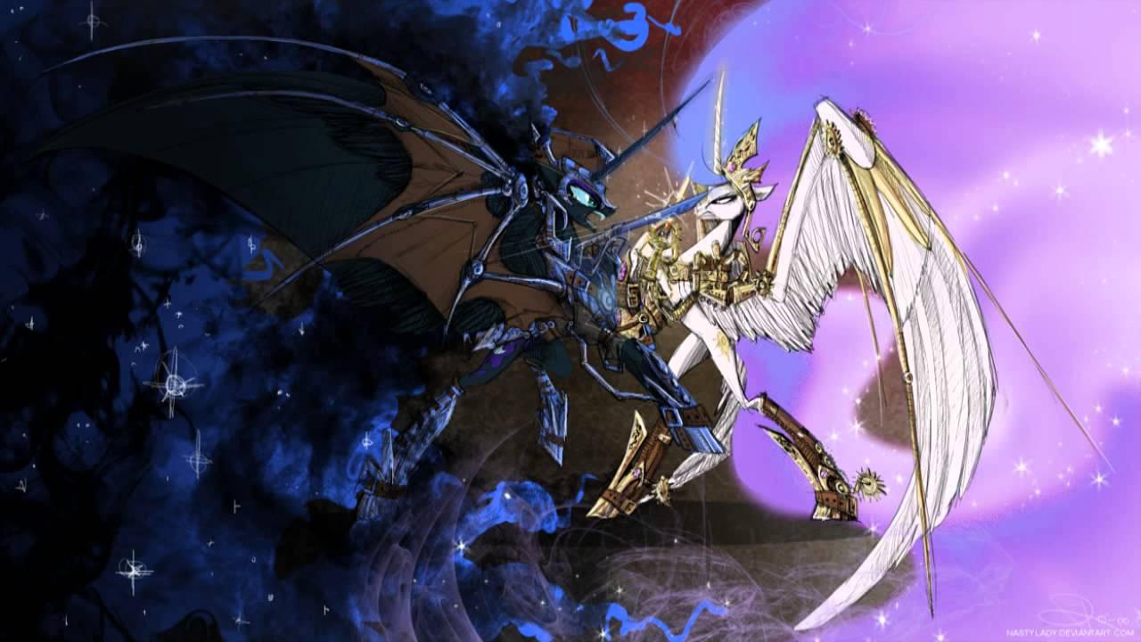 princess celestia vs nightmare - photo #43