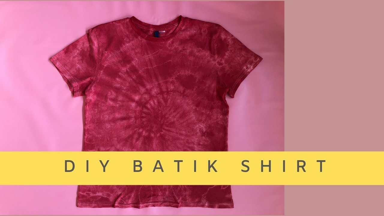 how to make batik shirts
