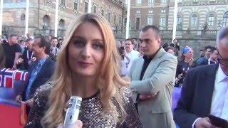 ESCKAZ in Stockholm: Red carpet report with messages to Russian speaking viewers