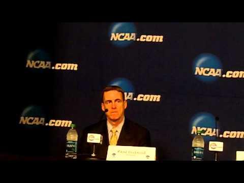 2015 NCAA Quinnipiac Post Game Press Conference vs North Dakota