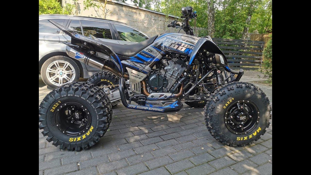 Yamaha raptor 700 / 105 HP 🔥🔥🔥   /Swap Engine KTM Duke 790 😈