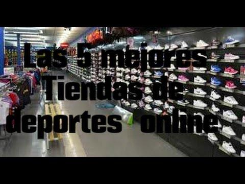 ae745249615de Las 5 mejores tiendas de deportes online  Los 5 mejores - YouTube