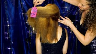 Luxurious Hair Brushing & Gentle Scalp Massage Sounds – ASMR Whispering Ear to Ear