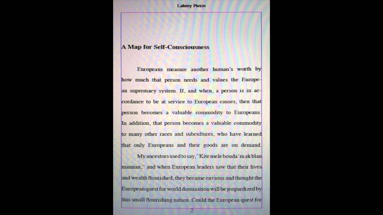 Science Fair Essay Essay In English With General English Essays  Freedom Conscience An Essay By Lahiny Pierre Youtube