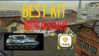 Tanki Online Birthday Celebrations Buying Annihilator Kit + Gold Box + Rank up