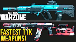 Call Of Duty WARZONE: TΟP 5 FASTEST KILLING LOADOUTS! (WARZONE Best TTK Setups)