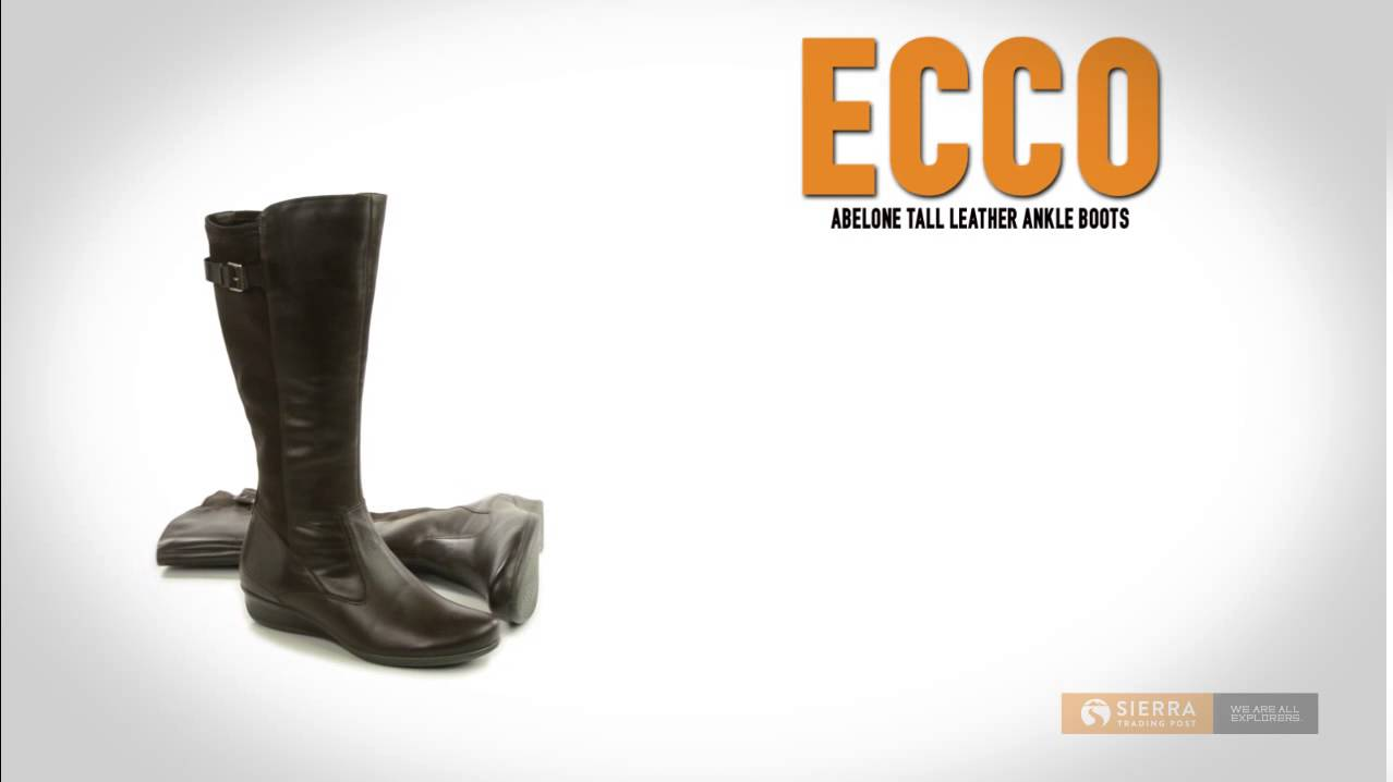 d02791998c5 ECCO Abelone Tall Leather Boots (For Women) - YouTube