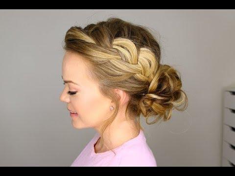 Loose Bun Hairstyles For Wedding Youtube