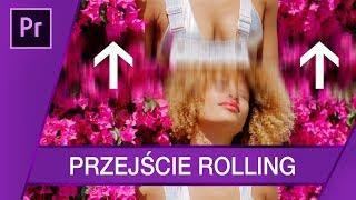 Jak zrobić przejście Rolling? ▪ Adobe Premiere #72 | Poradnik ▪ Tutorial