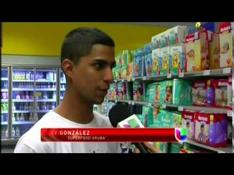 VENEZOLANOS VIAJAN A ARUBA A ABASTECERSE, POR LA GRAVE ESCASEZ