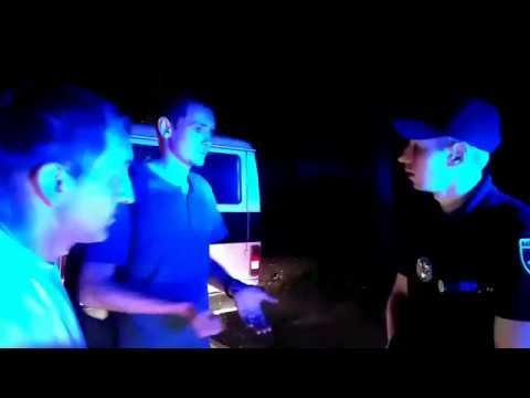 0512: полиция остановила пьяного водителя 'Ритуальной службы'
