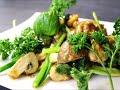 ASIA FOOD - KOMATSUNA MEAL