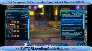 SWTOR Companion Gift Guide to Affection