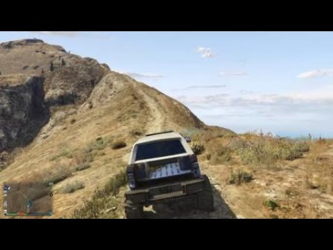 Off roading on mount chile pepper