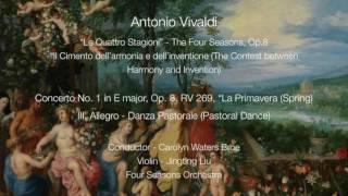 Antonio Vivaldi - Four Seasons Concerto No. 1, Op.8, RV 269 (Spring), III. Allegro Danza Pastorale