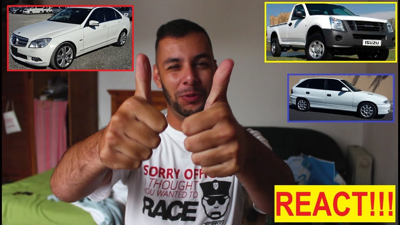 Reacting to your cars!
