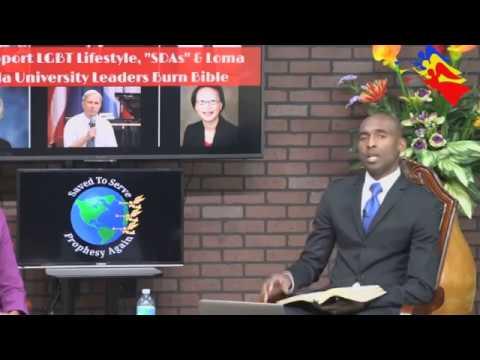 """AZS si conducatori de la Loma Linda """"ard"""" Biblia pentru a sprijini miscarea LGBT"""