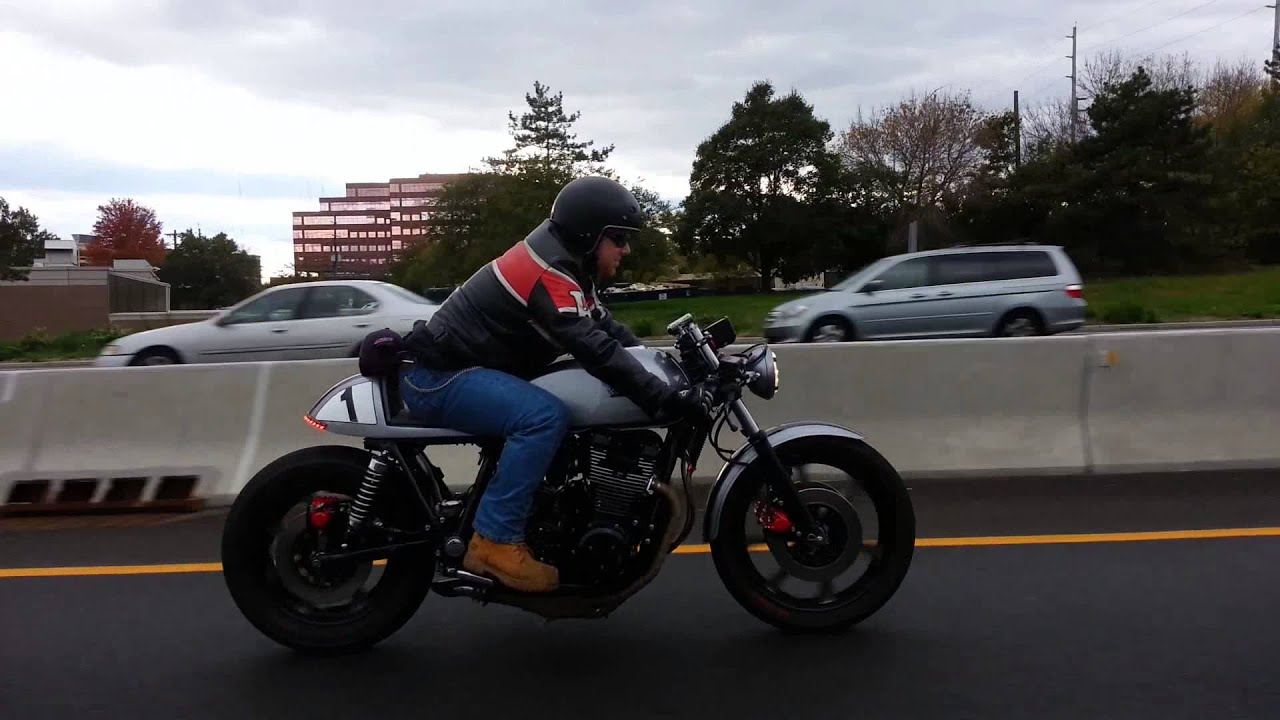 "78 Yamaha XS 1100 Caferacer ""Eleanor In Action """