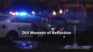 DUI Moment of Reflection Wine Glass