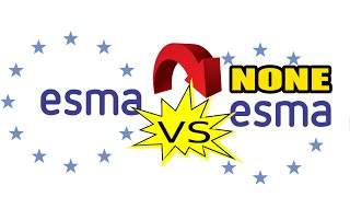 ESMA vs NONE ESMA Regulated Forex Broker Comparison