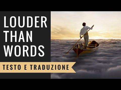 Pink Floyd - Louder Than Words (Testo e Traduzione in Italiano)