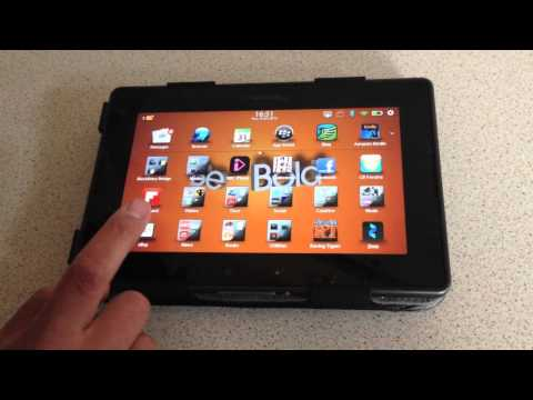 Hands On With The New Android Player On PlayBook OS 2.1