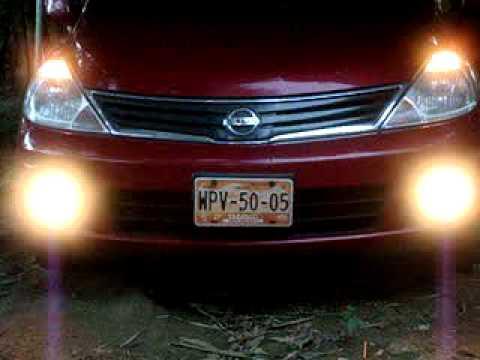 Drl Sistema En Faros De Niebla Nissan Tiida Versa
