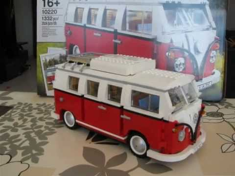 lego 10220 volkswagen t1 camper van photo review youtube. Black Bedroom Furniture Sets. Home Design Ideas