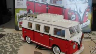 Lego 10220 Volkswagen T1 Camper Van Photo Review !